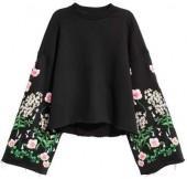 H&M Embroidered Sweatshirt