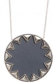 House of Harlow 1960 Sunburst Pyramid Pendant Necklace