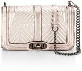 Best Seller Rebecca Minkoff Geo Quilted Love Crossbody Bag