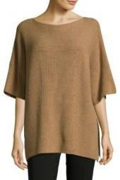 Knitted Roundneck Wool Sweater