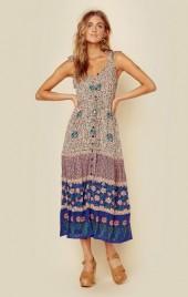 Cleobella chennai maxi dress