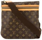 Monogram Canvas Pochette Bosphore Shoulder Bag