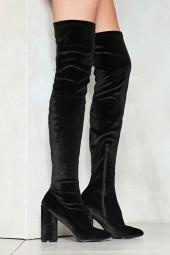 nastygal You Should Be High Love Over-the-Knee Boot