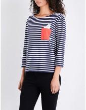 CHINTI & PARKER X MOOMINS Pocket cotton-jersey T-shirt