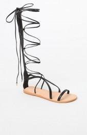 URGE Festival Lace-Up Sandals