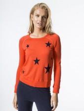 SUNDRY Crop Pullover