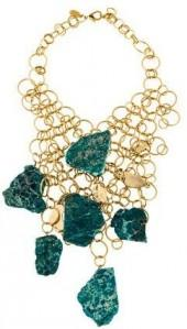 Kara by Kara Ross Statement Chain Bib Necklace