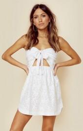For love and lemons strapless shirtdress