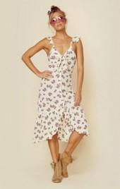 Lost in lunar daisy chain dress