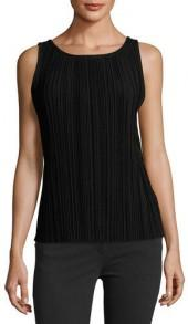 Theory Insar Drapey Tee 2 Cowl-Neck Button-Back Top