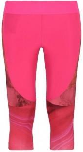 Stella McCartney pink running 3/4 tights