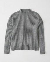 Boxy Ribbed Pullover