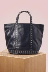 Vanessa Bruno Leather and eylets medium+ tote