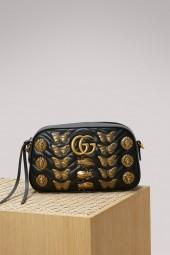 Gucci GG Marmont animal studs shoulder bag