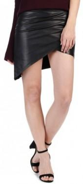 Women's Rosie Hw X Paige Frederica Leather Skirt