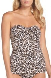 Women's Tommy Bahama Cat's Meow Twist One-Piece Swimsuit
