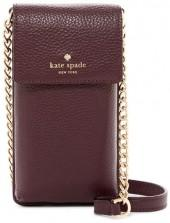 kate spade new york North South Leather Crossbody Bag