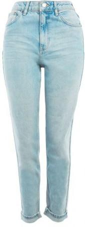 Topshop Moto authentic bleach mom jeans