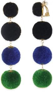 Taolei Ball Drop Clip On Earrings