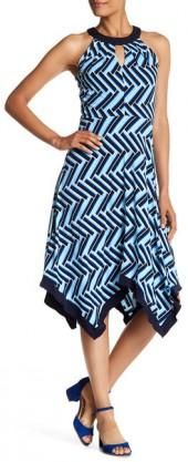 24/7 Comfort Print Midi Dress (Plus Size Available)