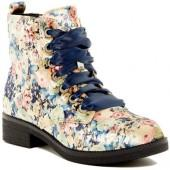 Dirty Laundry Snowflake Lace-Up Boot