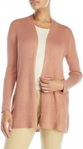 eileen fisher Ribbed Simple Cardigan