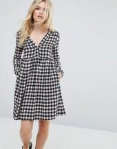 Max & Co Max&Co Dedica Gingham Shirt Dress