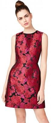 Blooming Brocade Dress