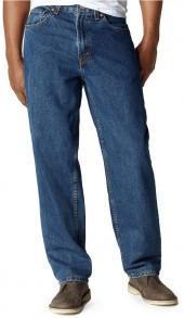 Levi's Big and Tall Jeans, 560 Comfort Fit, Dark Stonewash