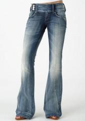 Vigold Premium Extend-Tab Stretch Bootcut Jean