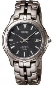 Seiko Watch, Men's Le Grand Sport Watch Titanium Bracelet SLC033