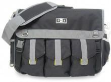 Diaper Dude® Deluxe Diaper Bag for Twins - Black