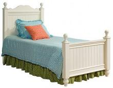 Summer Breeze Kids Bed, Twin Low Poster Bed