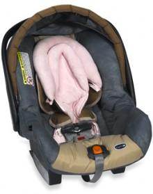 Pink Luxury Double Head Rest by Kidsline™