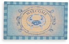 "18"" x 30"" Blue Crab Welcome Doormat"