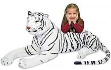 Melissa & Doug® Plush Tiger Stuffed Animal
