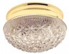 Transitional White 1-Light Flush Ceiling Sconce