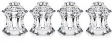 Godinger Crystal Pagoda Salt & Pepper Set