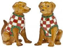 Godinger Golden Retriever Salt and Pepper Set