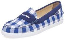 Pinch Gingham Weekender Penny Loafer