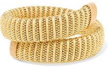 Carolina Bucci - Caro Gold-plated And Lurex Bracelet