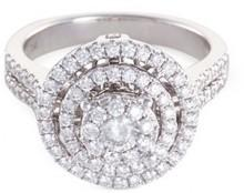 LC Collection 'Versatile' diamond 18k white gold ring
