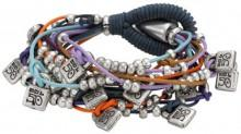 Uno De 50 Where Are the Key? Multi-Strand Bracelet