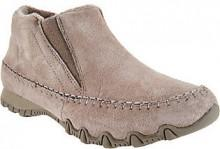 Skechers Relaxed Fit Suede Ankle Boots - Spirit Animal