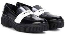 Tod's Platform leather loafers
