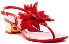 kate spade new york Davina Flower Jelly Sandal