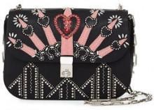Valentino Garavani Love Blade Embroidered Shoulder Bag