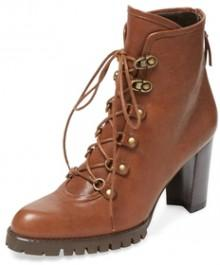 Mackinac Leather Lace-Up Boot