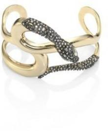 Alexis Bittar Elements Snake Crystal Cuff