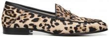 Sam Edelman Loraine Leopard Print Haircalf Loafer